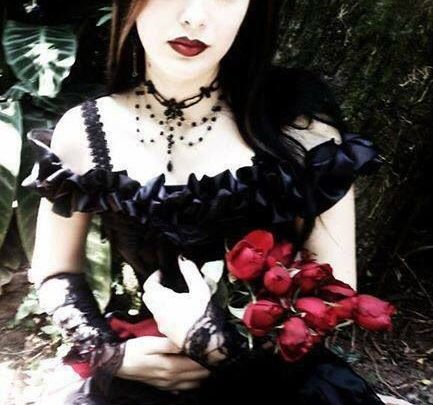 ~Gothic Art~ a pose for valentines day or an anniversary photo for your significant other.