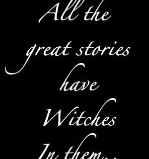 "Magick Wicca Witch Witchcraft: ""All the great stories have #Witches in them...."" by alberta"