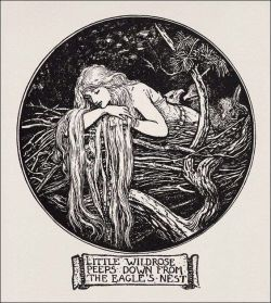 Little Wildrose, illustration by Henry Justice Ford, from the Crimson Fairy Book edited by Andre ...