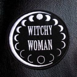 Hey witchy woman this quality moon phase patch was made for you. This patch is to be sewn on. Po ...