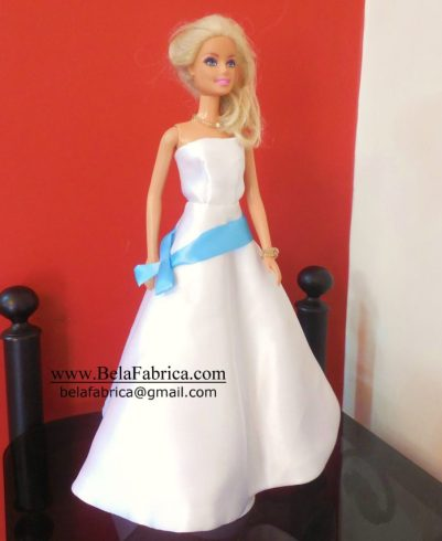 Custom Replica Wedding Dress Miniature by BELAFABRICA