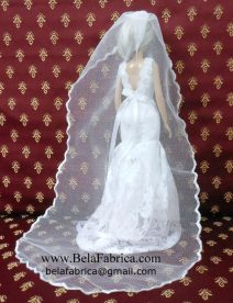 Davids Bridal WG3757 Back View Miniature replica