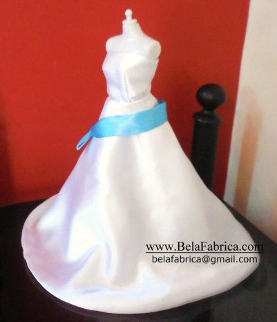 Miniature Replica Wedding Dress Custom BY BELAFABRICA