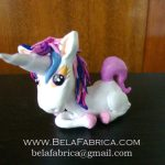 Clay Figurine Cute Unicorn By BelaFabrica