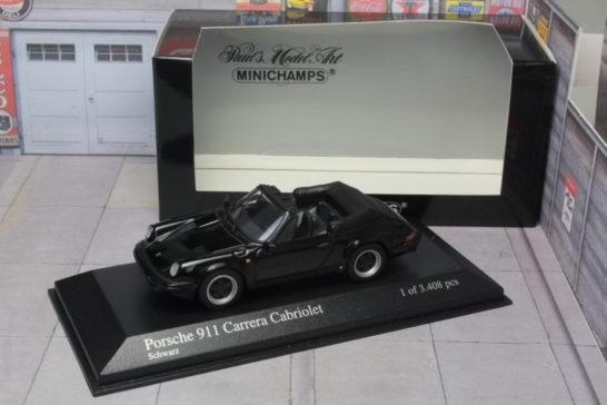 ミニチャンプス minichamps ポルシェ Porshce 911 カレラ Carerra カブリオレ cabriolet