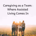 caregiving as a team, family, caregiver, caregiving