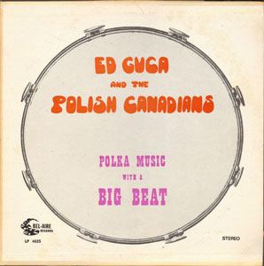 Polkas With A Big Beat-Ed Guca & The Polish Canadians-Cassette