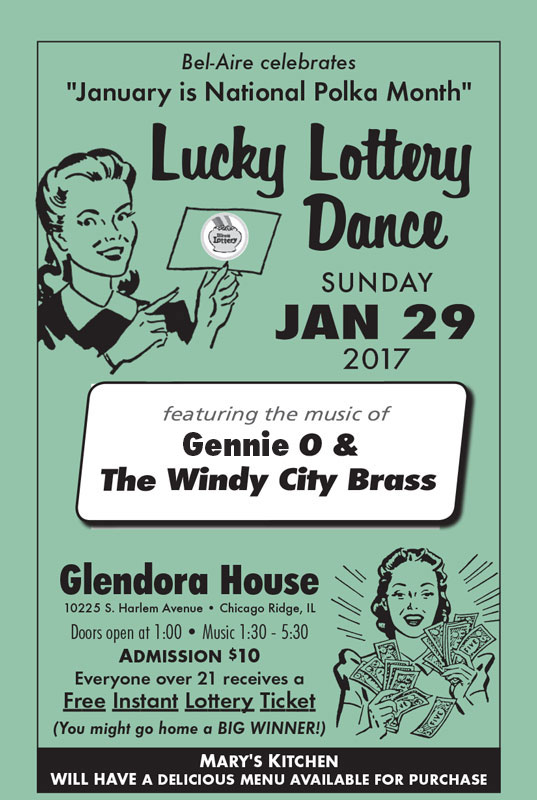Bel-Aire Lucky Lottery Dance January 29, 2017