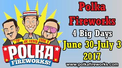 Polka Fireworks 2017