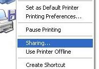 Cara instal printer sharing LAN jaringan windows xp
