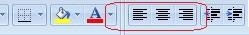 Cara Membuat Format Alignment Worksheet Microsoft Excel 2003 2007