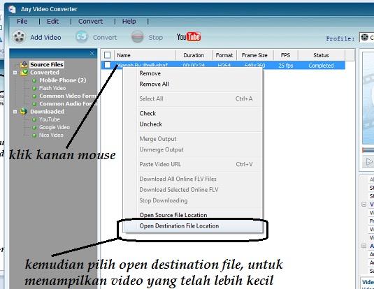 cara mengecilkan ukuran file video 3