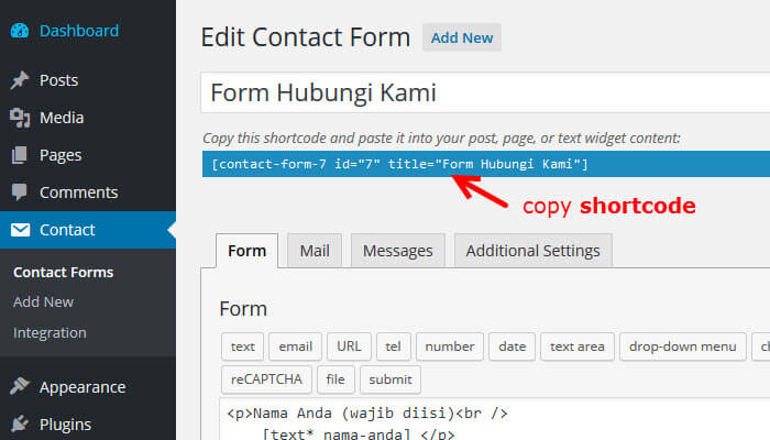 13-copy-shortcode-form