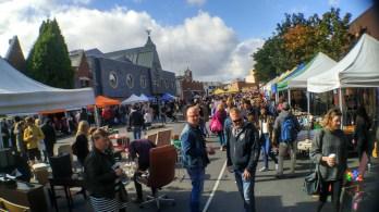 fle market bulanan, out door space nya