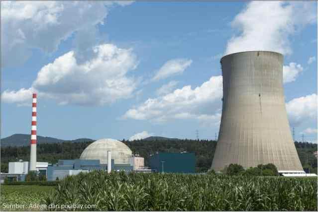 Energi Nuklir sebagai Pembangkit Listrik (Adege dari Pixabay.com)