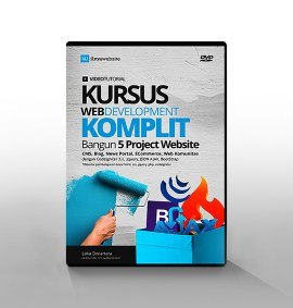 kursus web development komplit