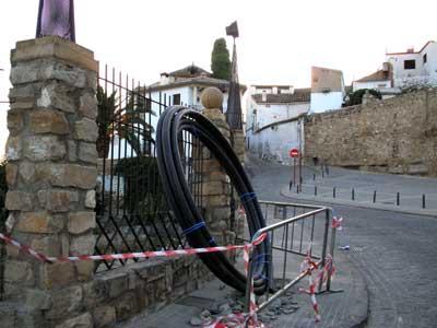 En la Puerta de Granada