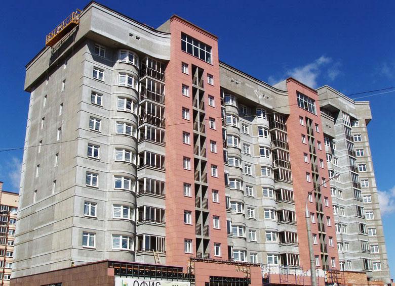 Многоквартирный жилой дом ул. Лукьяновича в г. Минске