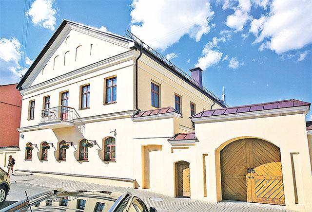 Реконструкция и реставрация изолированного нежилого здания № 14 по ул. Раковской в г. Минске
