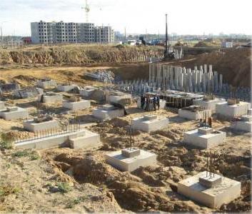 Строительство многоэтажного жилого дома № 10 по г.п. в микрорайоне Каменная горка-2