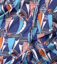 Joan Set - Blue abstract