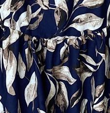 Temi Dress - blue floral