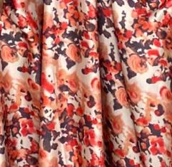 Steph Maxi Dress - Orange Floral