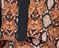 Arin Set - Brown animal print