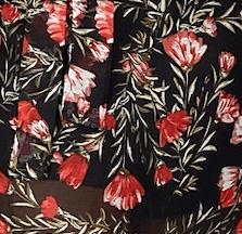 Mila Set - Black Floral