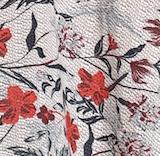 Anwuli Dress - cream floral
