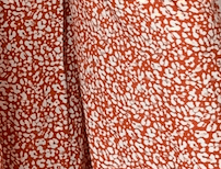 Adisa Set - Orange and cream