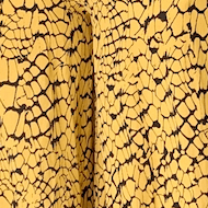 Kenny Jumpsuit - Yellow and black abstract