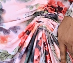 Faka Dress - Pink abstract