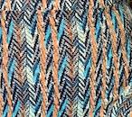 Anwuli Dress - Green stripe abstract
