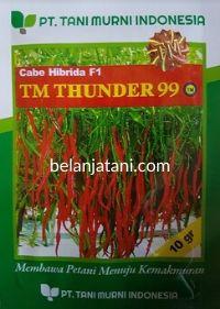 Cabe TM Thunder 99, Cabe TM Thunder 99, Cabe TM Thunder 99 F1, Cabai TM Thunder 99, Cabe Keriting TM Thunder 99, Cabai Keriting TM Thunder 99, Cabe Merah Keriting TM Thunder 99, Harga Murah, Belanja Tani, Tani Murni, TM Seeds