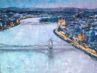Budapest Impresszió II, 60 x 80 cm