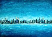 Hideg város, 50 x 70 cm, Magántulajdon