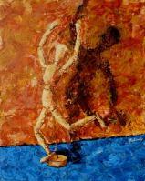 Múzsára várva III, 50 x 40 cm