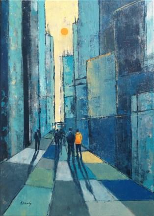 New York Impresszió, 70 x 50 cm