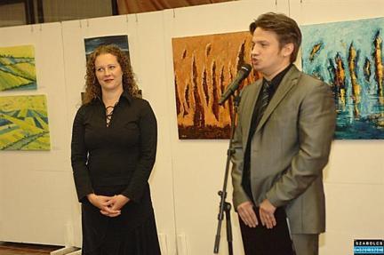 Nyíregyházi kiállítás - Pankotay Péter megnyitója