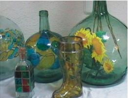 floreros cristal