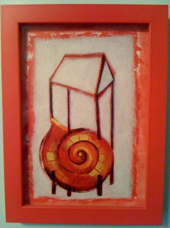 Caracol, obra de Amílkar Fernández