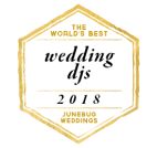 Bela Sono selected by Junebug Weddings as one of the Worlds Best Wedding DJs for 2018
