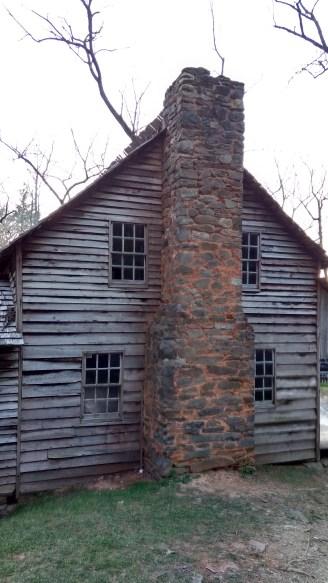 Carter Shield's cabin.
