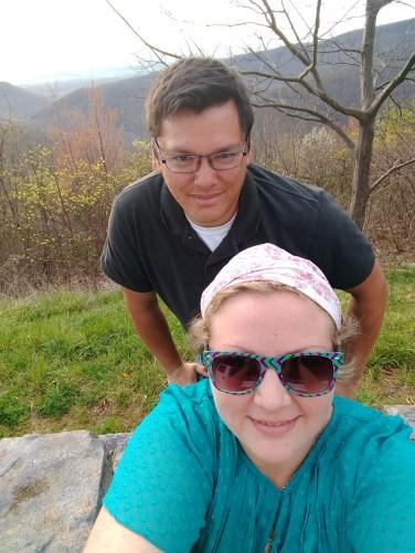 Overlooking Shenandoah Valley.