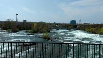 Rapids of the Niagara River.