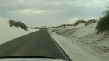 Road to White Sands