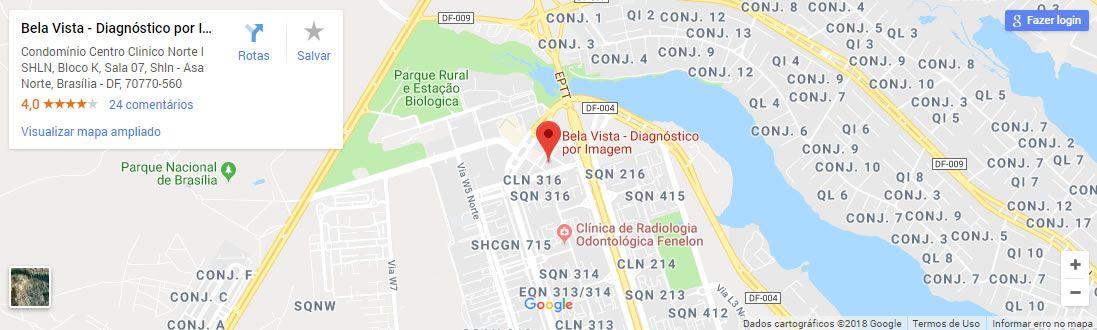 bela vista imagem mapa google