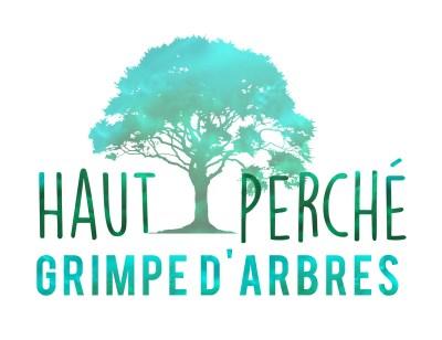 Logo haut perché Grimpe d'arbres