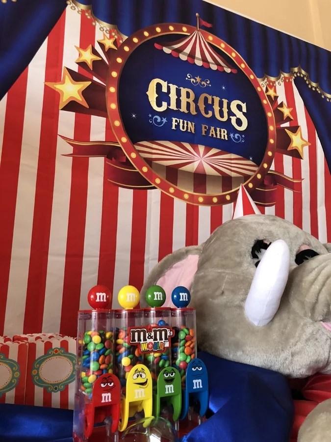 Belcat theme Circus Anniversaire Country Club Monaco